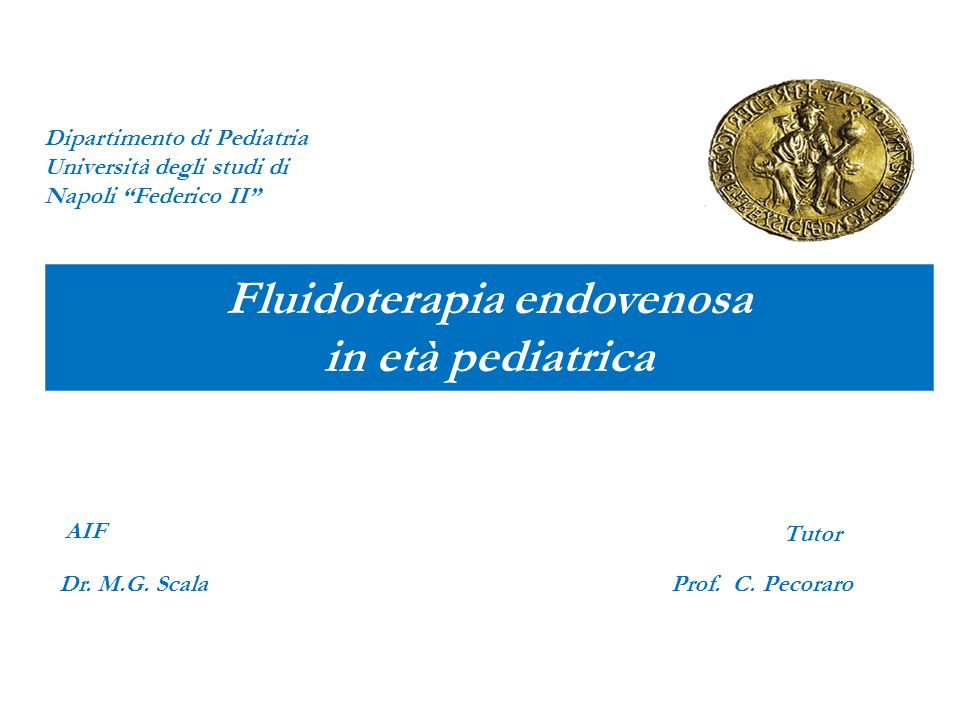 Fluidoterapia endovenosa