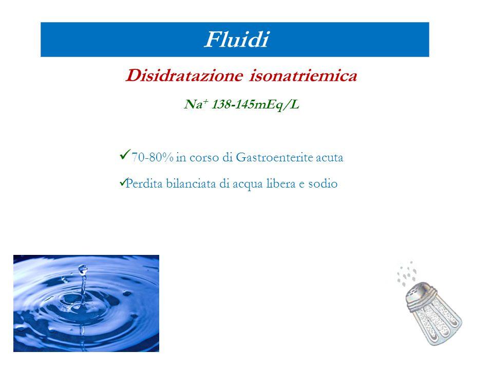 Disidratazione isonatriemica