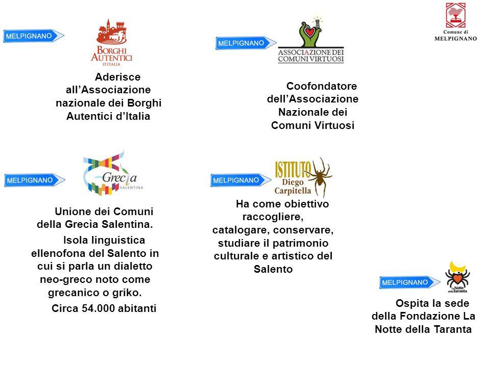 Aderisce all'Associazione nazionale dei Borghi Autentici d'Italia