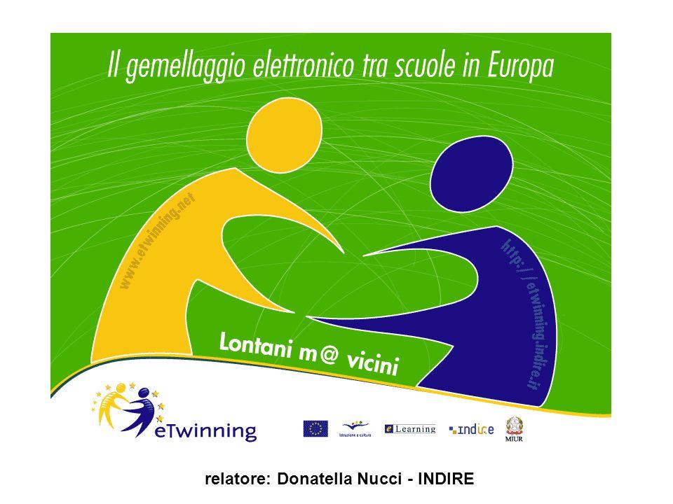 relatore: Donatella Nucci - INDIRE