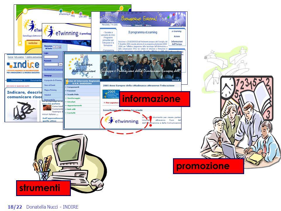 ! informazione promozione strumenti