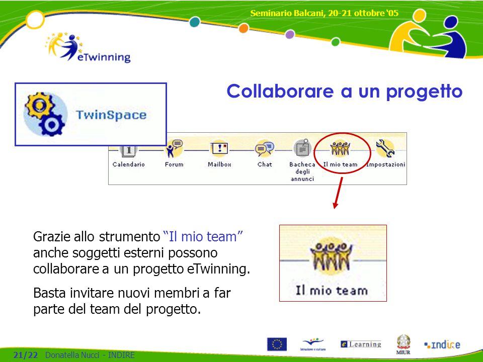 Collaborare a un progetto
