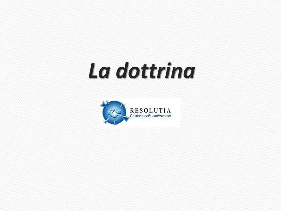 La dottrina