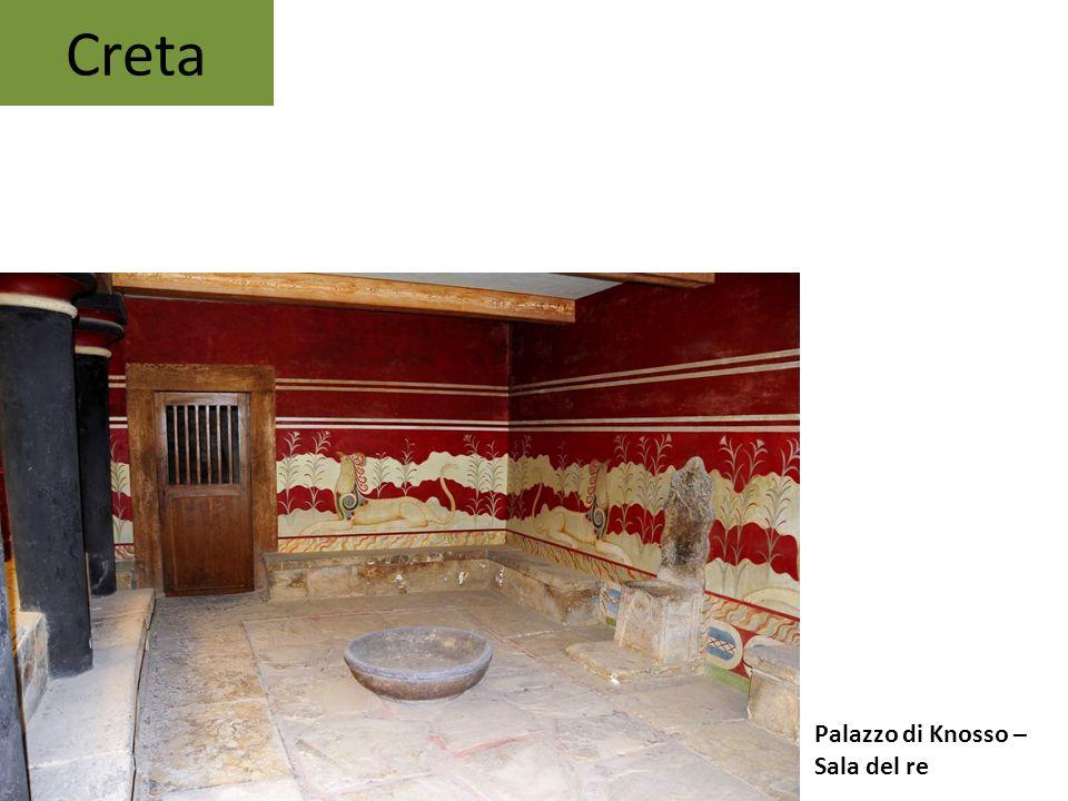 Creta Palazzo di Knosso – Sala del re