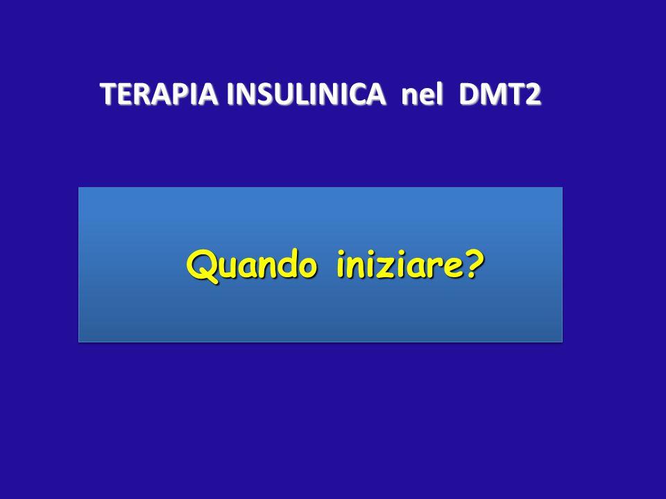 TERAPIA INSULINICA nel DMT2