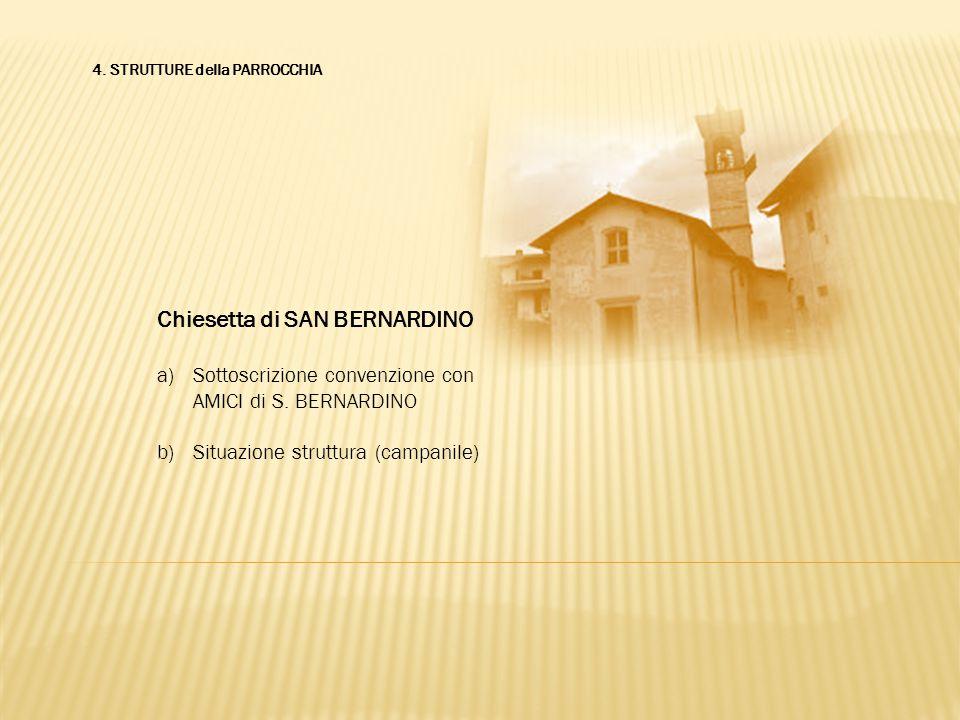 Chiesetta di SAN BERNARDINO
