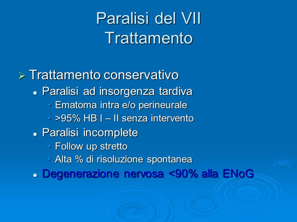 Paralisi del VII Trattamento
