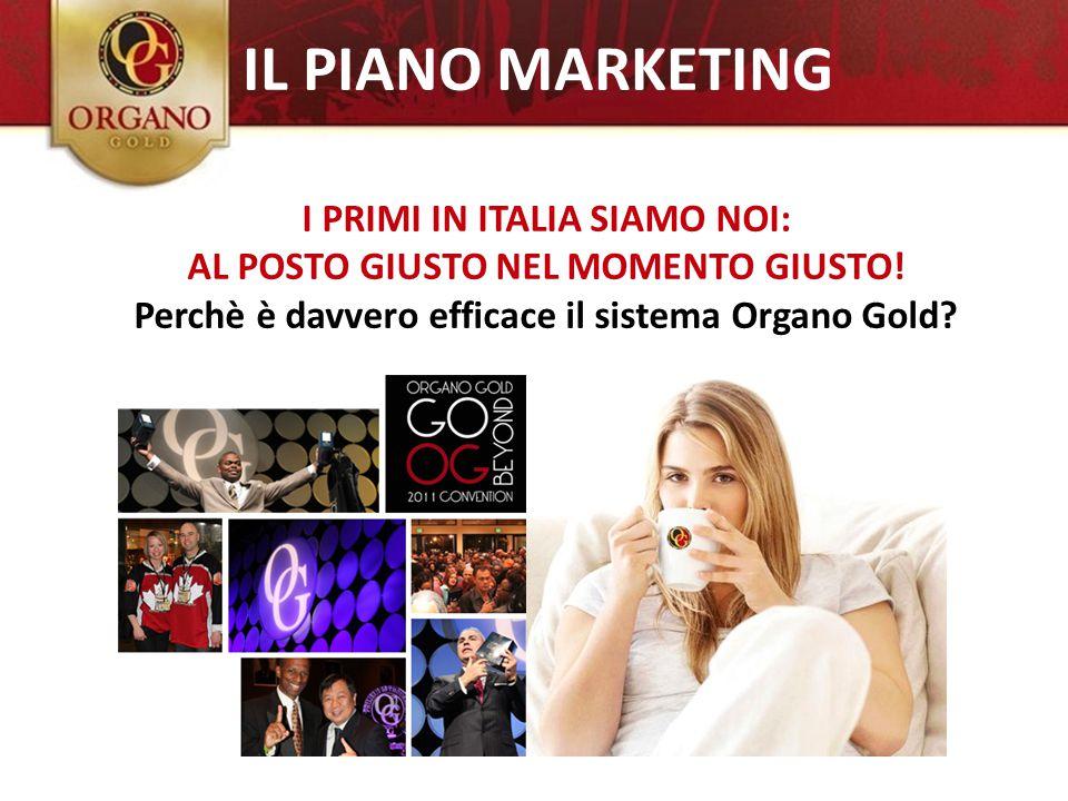IL PIANO MARKETING I PRIMI IN ITALIA SIAMO NOI: