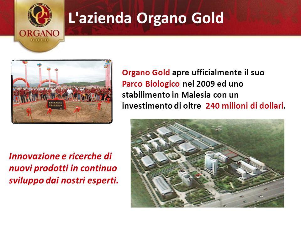 L azienda Organo Gold Innovazione e ricerche di