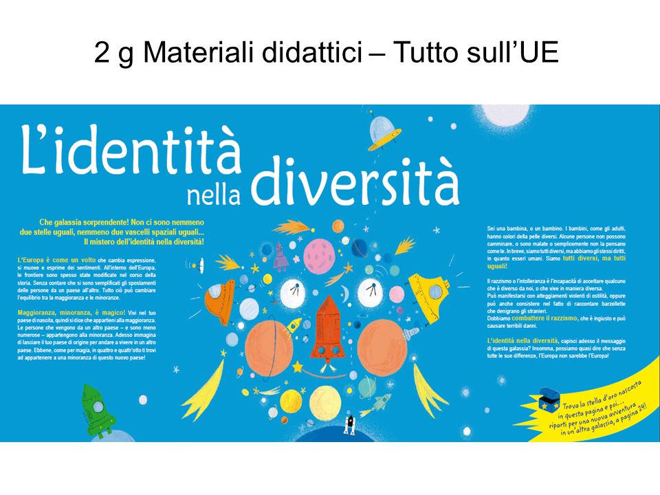 2 g Materiali didattici – Tutto sull'UE