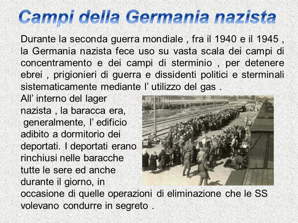 Campi della Germania nazista
