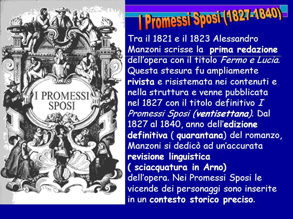 I Promessi Sposi (1827-1840)