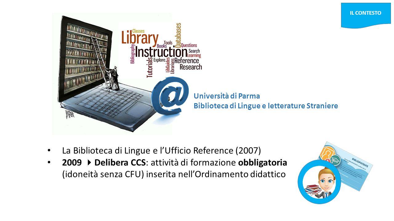 La Biblioteca di Lingue e l'Ufficio Reference (2007)