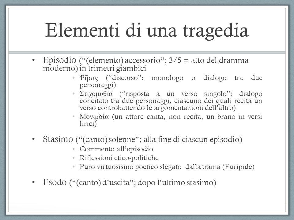 Elementi di una tragedia