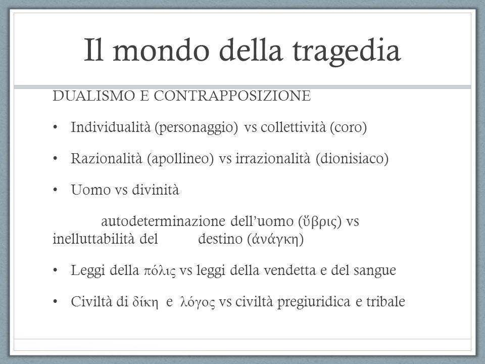 Il mondo della tragedia