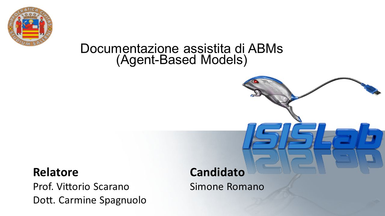 Documentazione assistita di ABMs (Agent-Based Models)