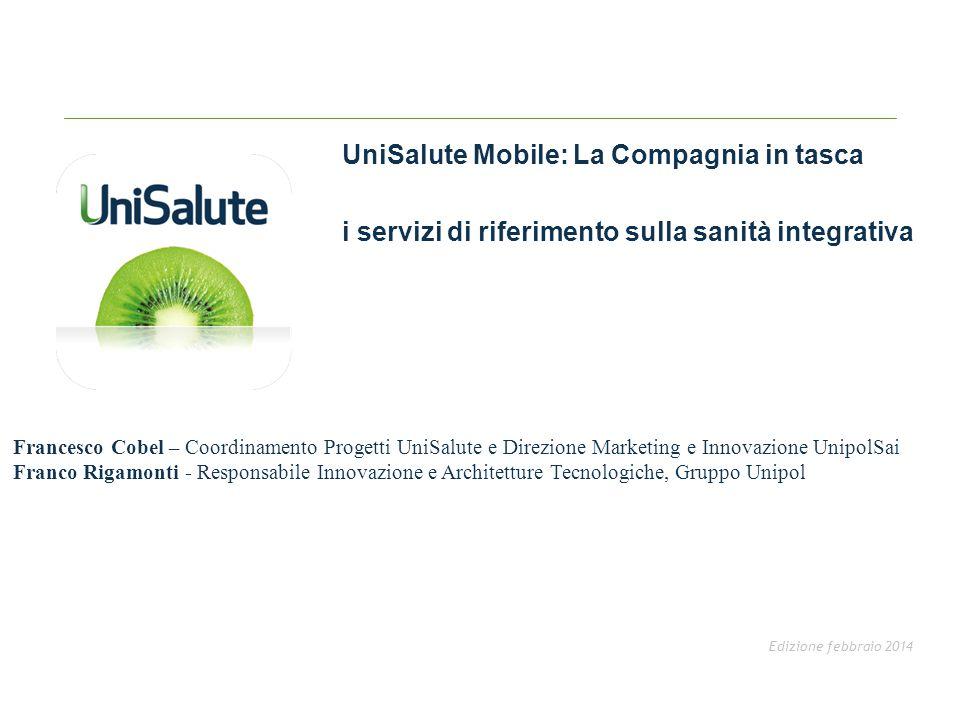 UniSalute Mobile: La Compagnia in tasca