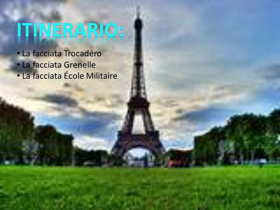 Itinerario: La facciata Trocadéro La facciata Grenelle