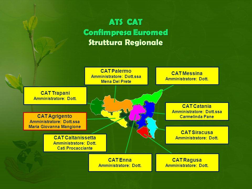 ATS CAT Confimpresa Euromed Struttura Regionale