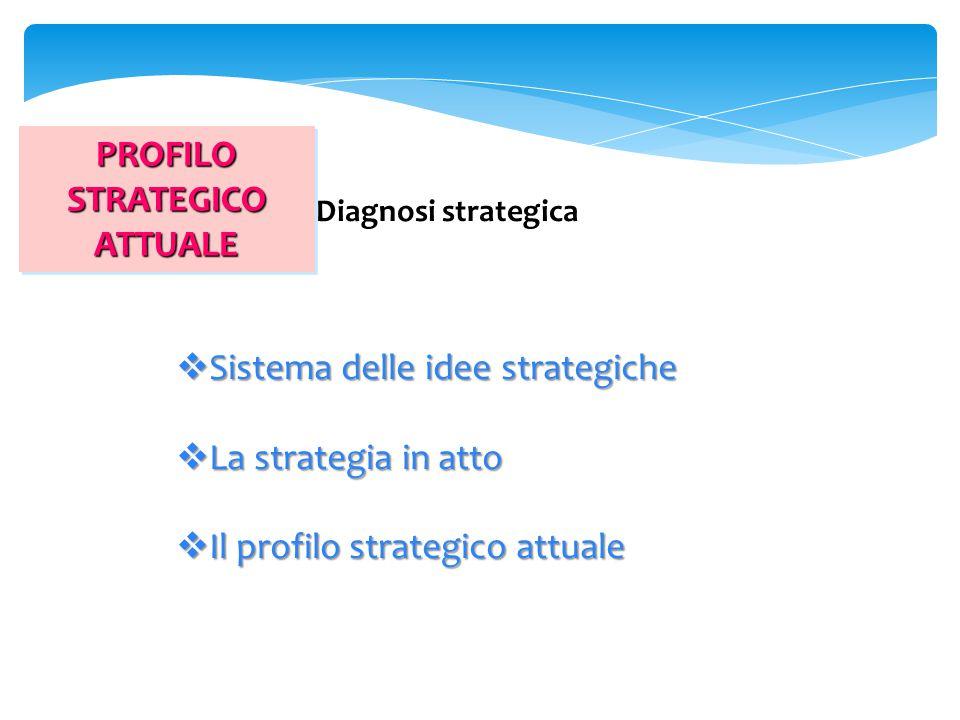 PROFILO STRATEGICO ATTUALE