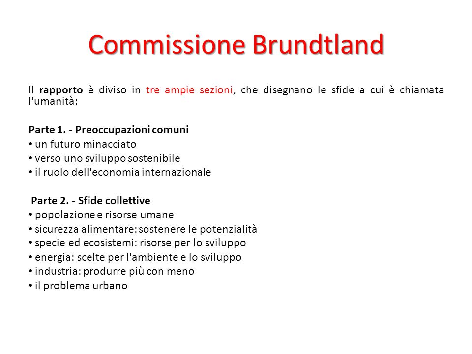 Commissione Brundtland