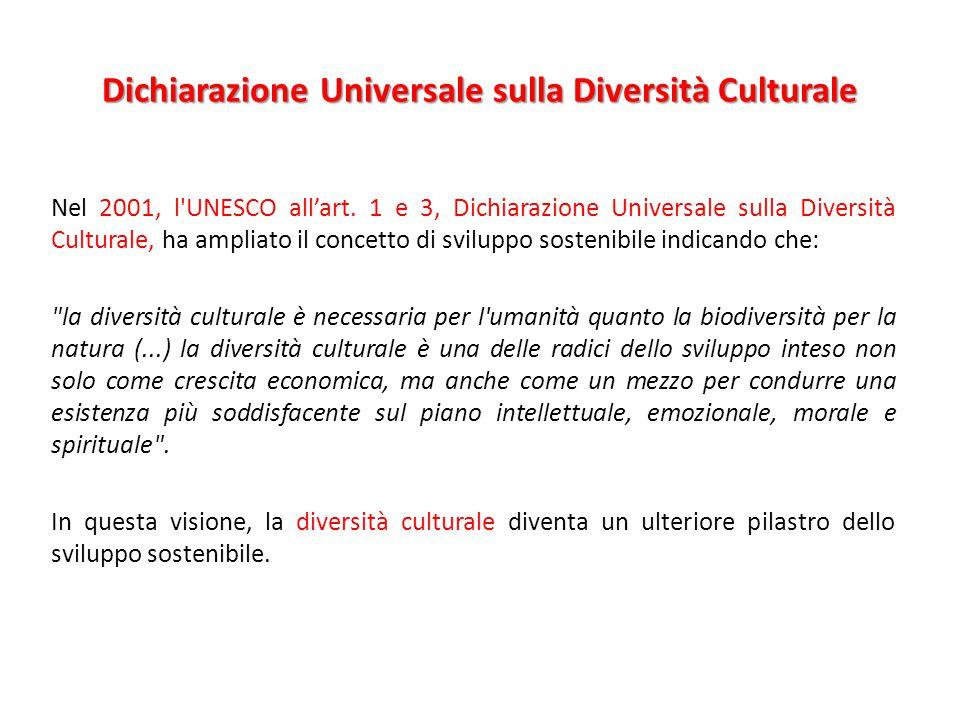 Dichiarazione Universale sulla Diversità Culturale