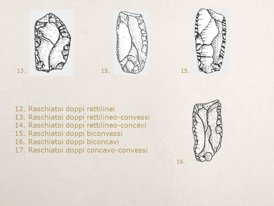 12. Raschiatoi doppi rettilinei