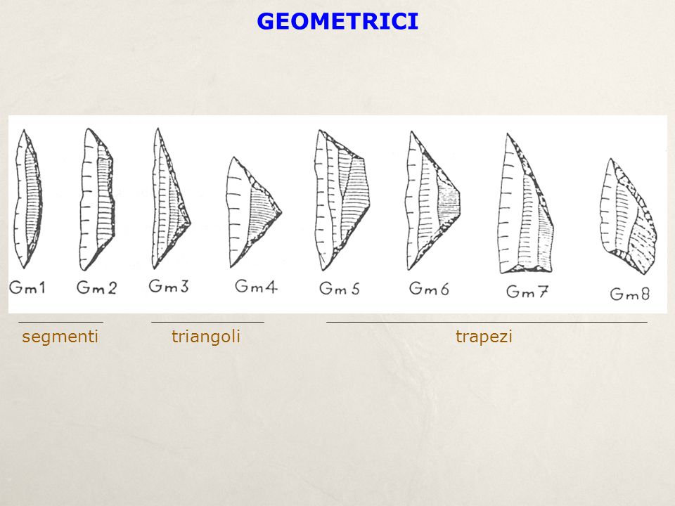 GEOMETRICI segmenti triangoli trapezi