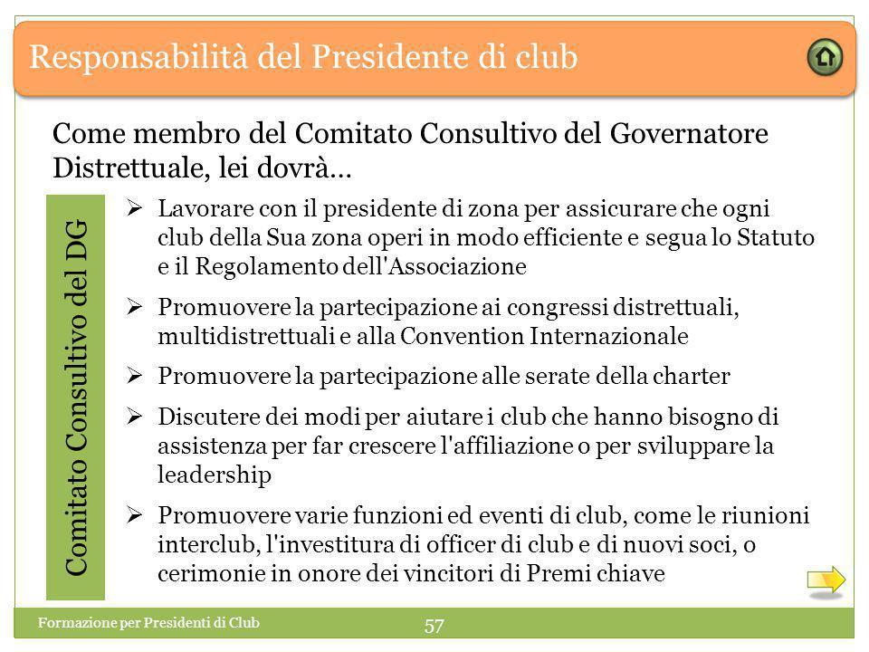 Comitato Consultivo del DG
