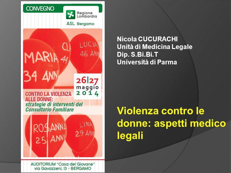 Violenza contro le donne: aspetti medico legali