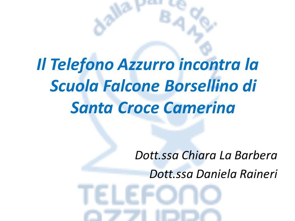 Il Telefono Azzurro incontra la Scuola Falcone Borsellino di Santa Croce Camerina