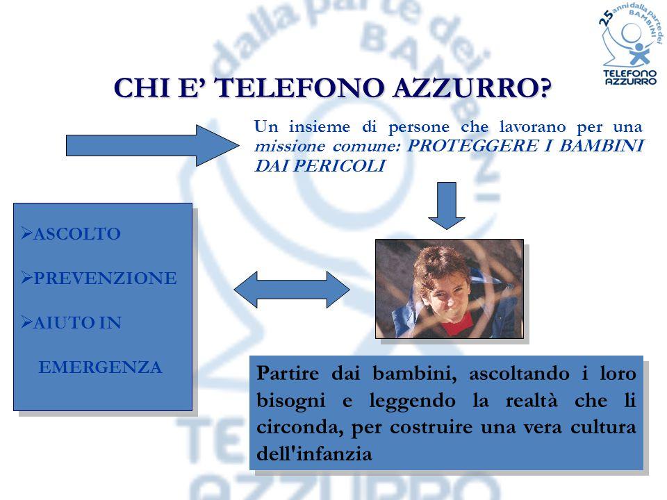 CHI E' TELEFONO AZZURRO