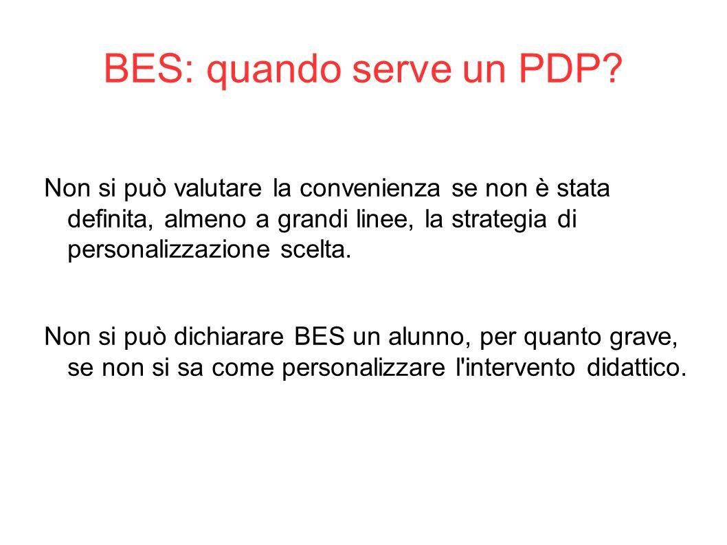 BES: quando serve un PDP
