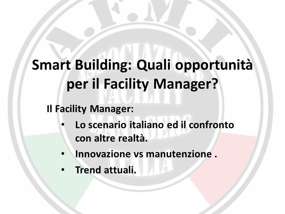 Smart Building: Quali opportunità per il Facility Manager
