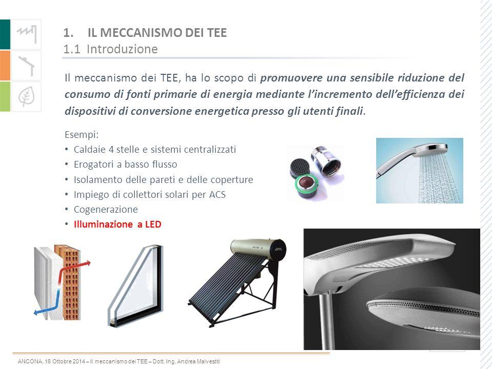 IL MECCANISMO DEI TEE 1.1 Introduzione