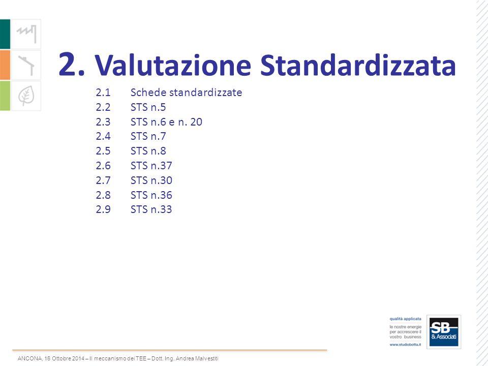 2. Valutazione Standardizzata