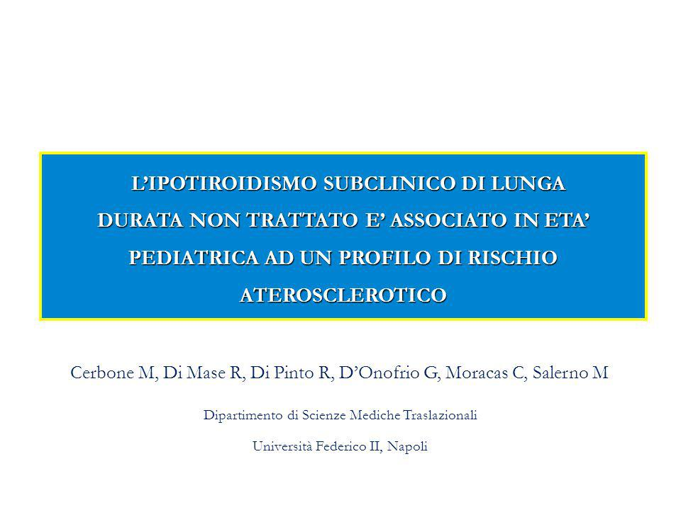 Cerbone M, Di Mase R, Di Pinto R, D'Onofrio G, Moracas C, Salerno M