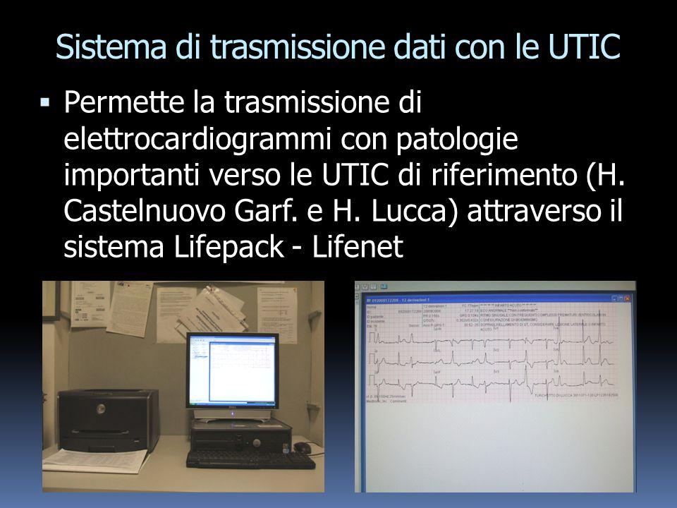 Sistema di trasmissione dati con le UTIC
