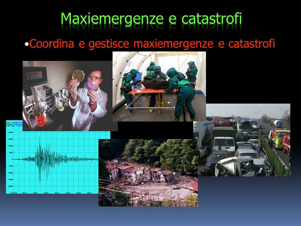 Maxiemergenze e catastrofi