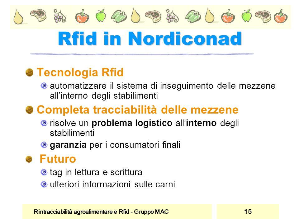 Rfid in Nordiconad Tecnologia Rfid