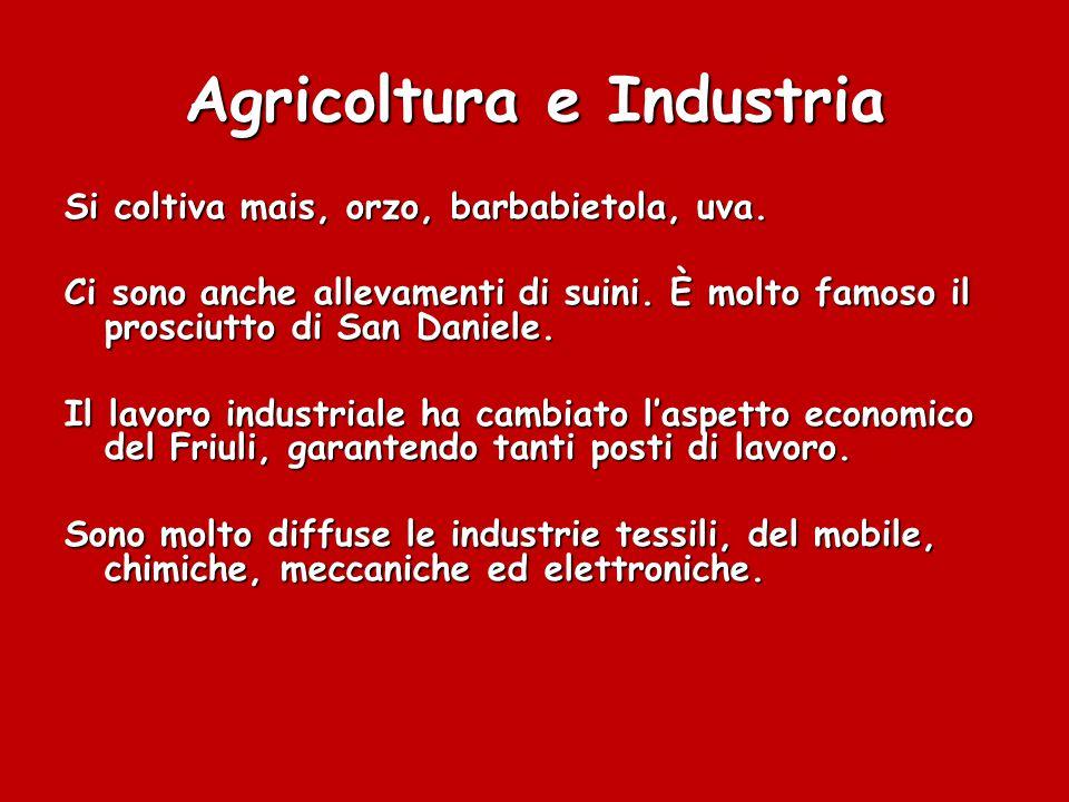 Agricoltura e Industria