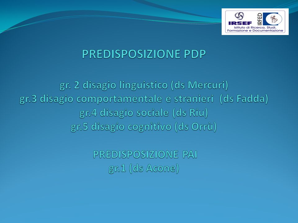 PREDISPOSIZIONE PDP gr. 2 disagio linguistico (ds Mercuri) gr