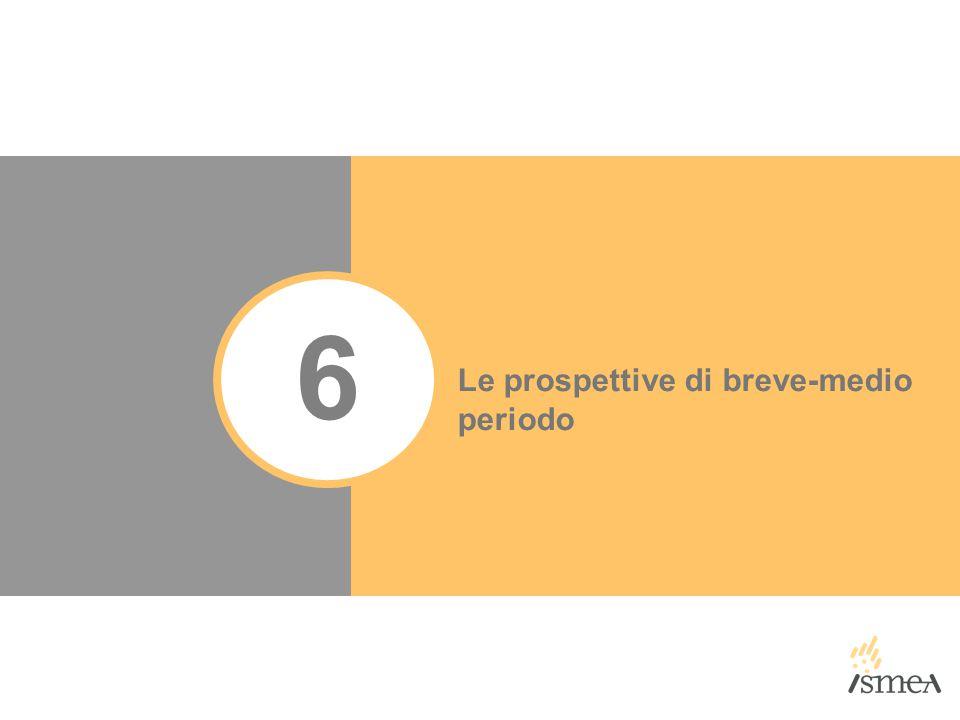 6 Le prospettive di breve-medio periodo