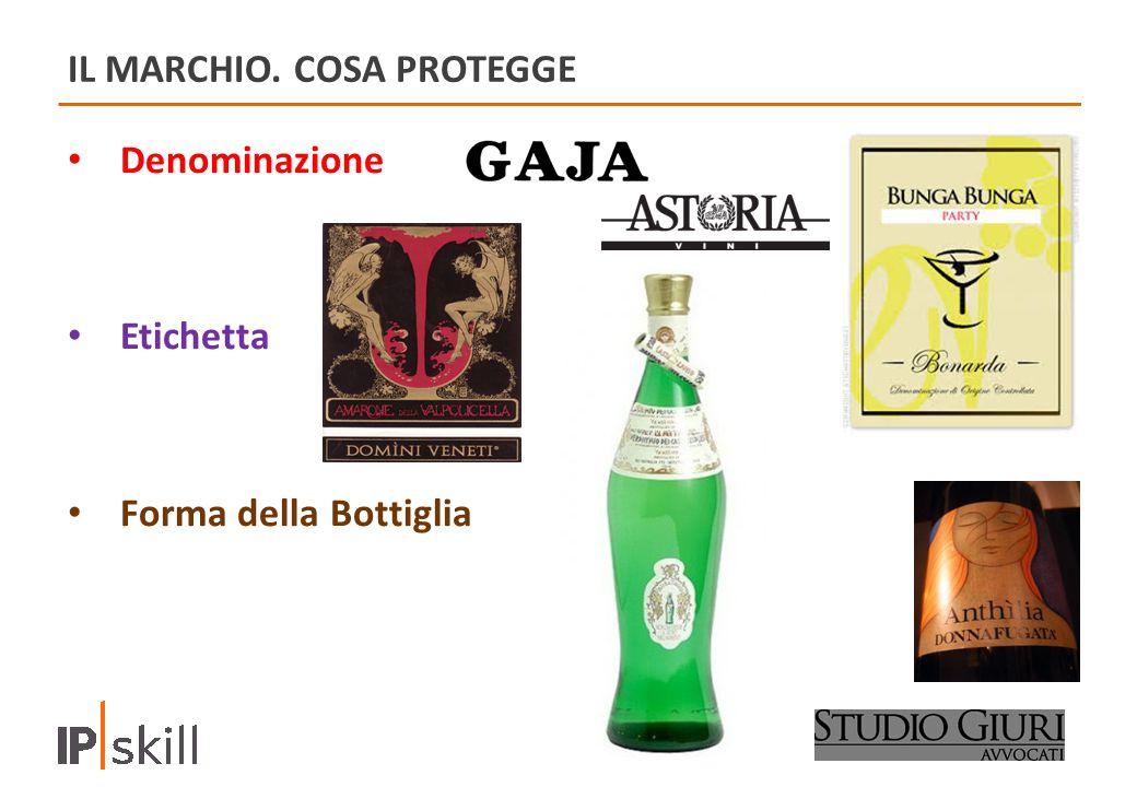 IL MARCHIO. COSA PROTEGGE