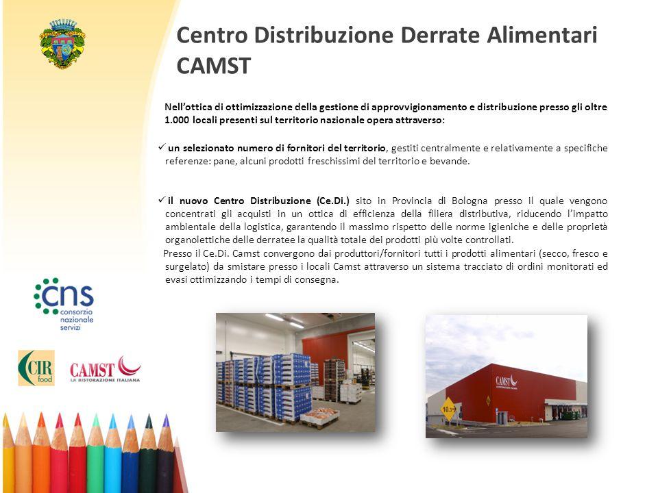 Centro Distribuzione Derrate Alimentari CAMST