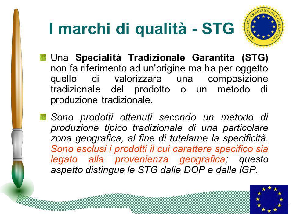 I marchi di qualità - STG