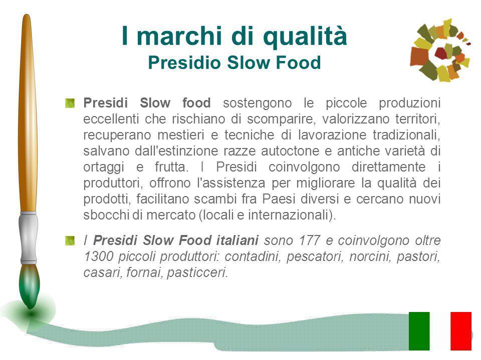 I marchi di qualità Presidio Slow Food