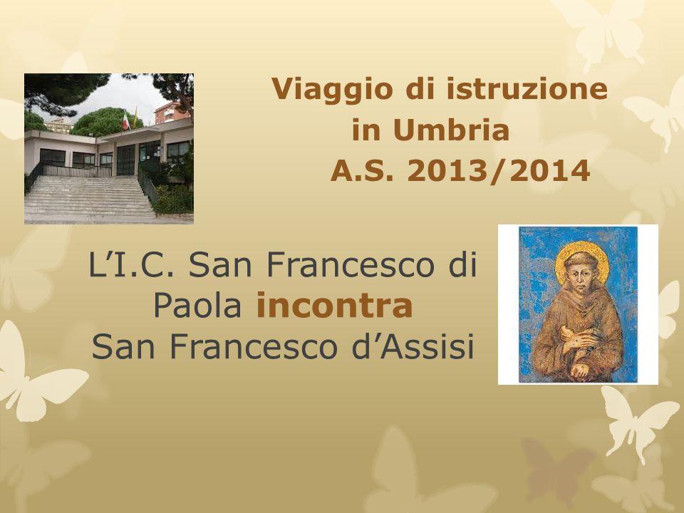 L'I.C. San Francesco di Paola incontra San Francesco d'Assisi