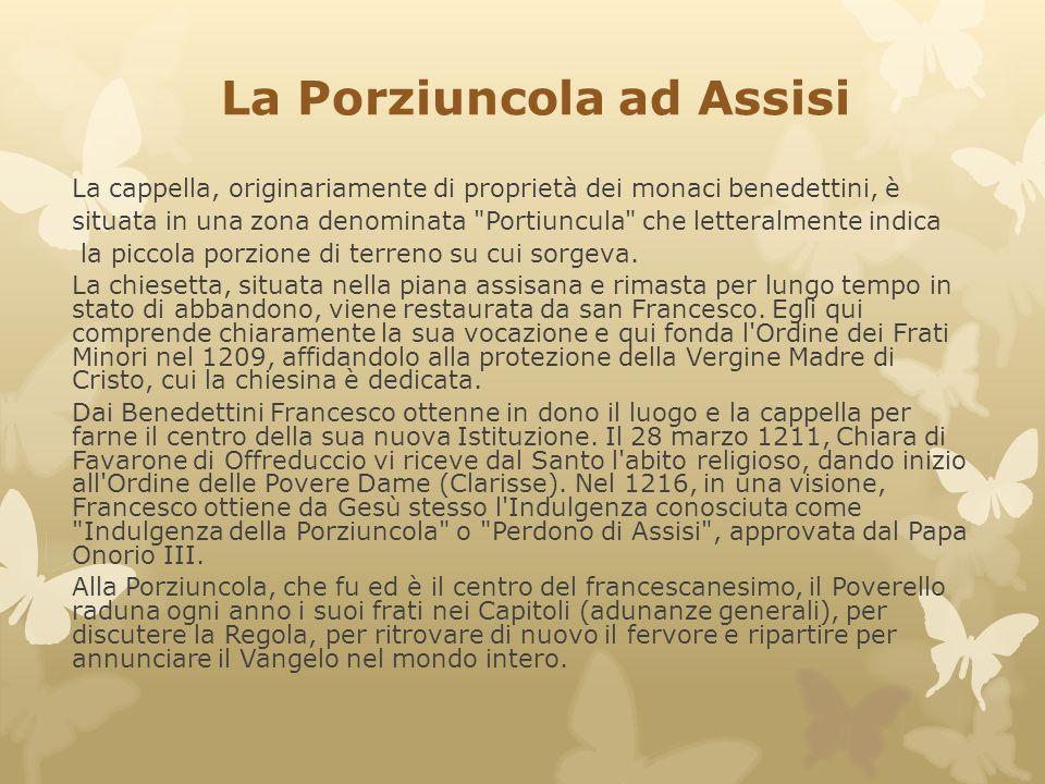 La Porziuncola ad Assisi