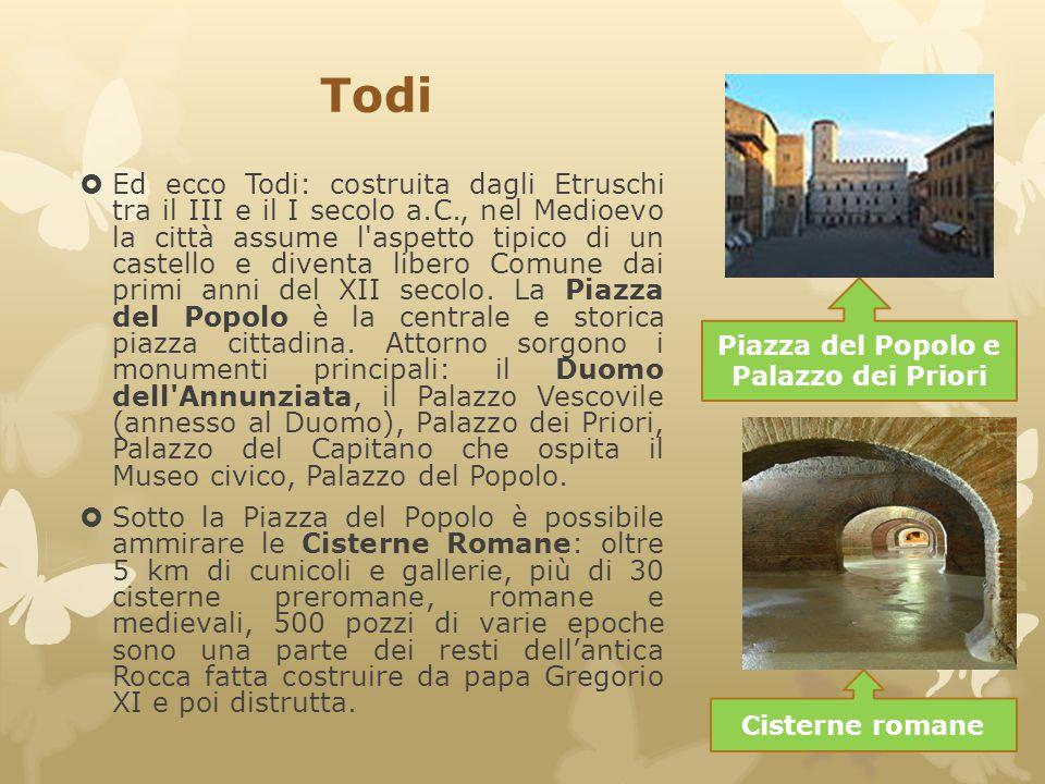 Piazza del Popolo e Palazzo dei Priori